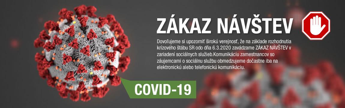 Zákaz návštev / COVID-19